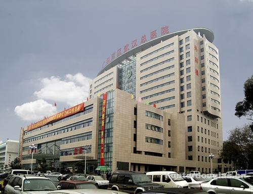 广州军区武汉总医院–铝单板外墙,铝方通吊顶