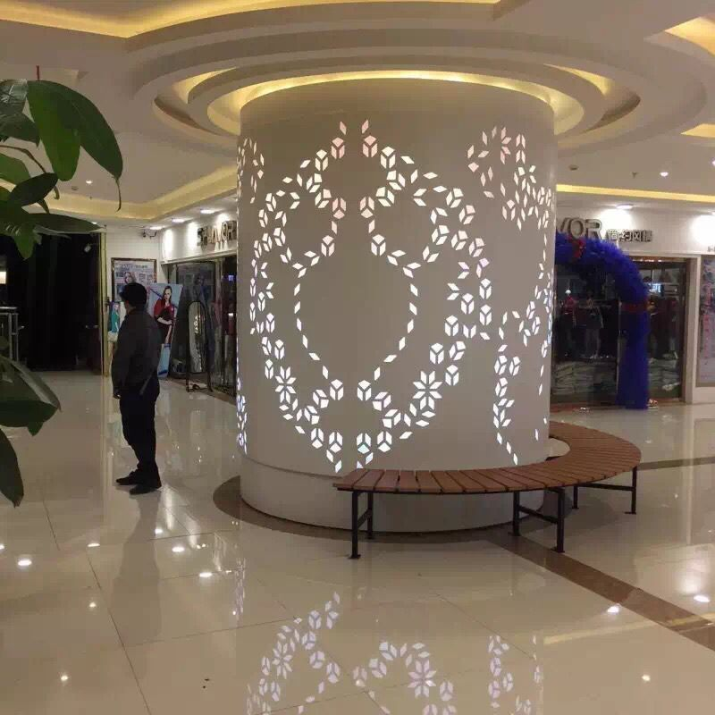 广州包柱铝单板